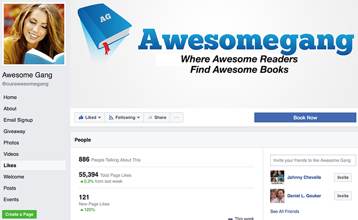 awesomegang results likes