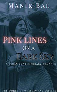 Pink Lines On a Dark Sky